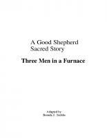 Aug 21 Three Men in a Furnace