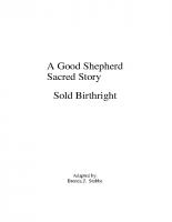 Oct 30 Sold Birthright