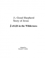 1-21Jesus in the Wilderness