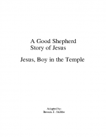 1-7Jesus, Boy in the Temple