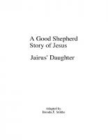 1-6Jairus' Daughter