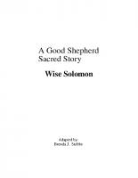 11-18Wise Solomon