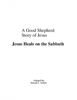5-5Jesus Heals on the Sabbath