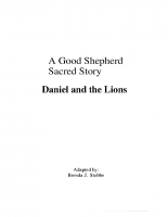 11-24Daniel and the Lions